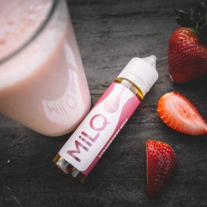 e liquids leche con fresas